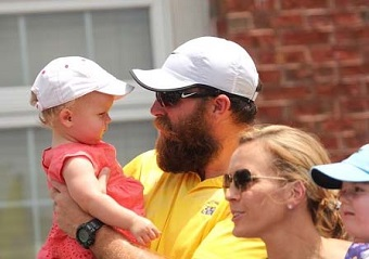 """I think it's time for Uncle Brett to Shear Da Beard! Yikes!!"" -- Baylee."